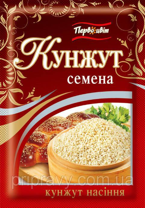 Кунжут семена ТМ Первоцвіт, 10 г