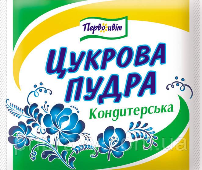 Сахарная пудра кондитерская ТМ Первоцвіт, 200 г