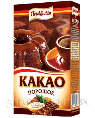 Какао порошок темный ТМ Первоцвіт, 200 г