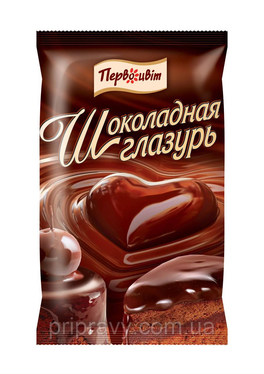 Шоколадная глазурь ТМ Первоцвіт, 100 г