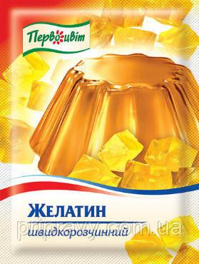 Желатин быстрорастворимый ТМ Первоцвіт, 15 г
