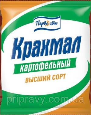 Крахмал картофельный высший сорт ТМ Первоцвіт, 250 г
