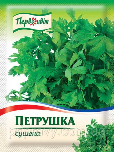 Петрушка сушеная ТМ Первоцвіт,  6 г
