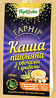 Гарнир Каша пшенная с овощами и грибами ТМ Первоцвіт, 150 г