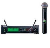 Вокальный микрофон, Радиомикрофон SHURE Beta 58A-SLX4 Вокальный радиомикрофон мікрофон