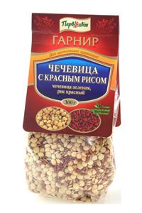 Гарнир Чечевица с красным рисом ТМ Первоцвіт, 300 г