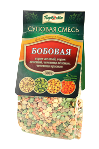 Суповая смесь бобовая ТМ Первоцвіт, 300 г