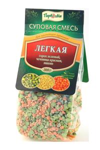 Суповая смесь Легкая ТМ Первоцвіт, 300 г
