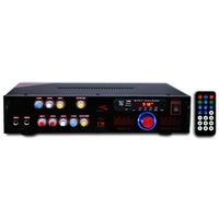 Усилитель трансляционный двухканальный KA200(100V+4Om) 40ват
