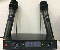 Радиосистема Shure-800 микрофоны на батарейках, фото 1