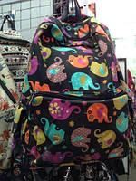 Молодежный городской рюкзак Животный принт