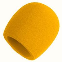 Ветрозащита для микрофона оранжевого цвета