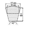 Ремень приводной (SPB) УБ-4000