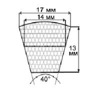 Ремень приводной (SPB) УБ-1400