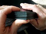 Поліуретан листовий 200*200*5 мм 95 Shore A Колір чорний, фото 2