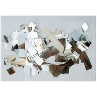 Металлическая нарезка конфетти- размер 2см*5см СЕРЕБРО МАЙЛАР