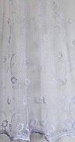 Гардинное полотно (вышивка на фран. вуале ELIT-2001) в-280