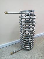 Изготовление каркасных проточных спиралевидных теплообменников