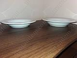 Тарелка суповая из фарфора, объем 450 мл., фото 4