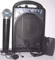 Акустика с ручным и головным микрофоном А3