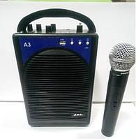 Аккумуляторная акустика с микрофоном А3