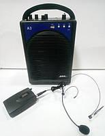 Аккумуляторная акустика с головным микрофоном А3