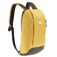 Рюкзак Quechua Arpenaz желтый с серым 10L