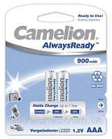 Аккумуляторная батарея CAMELION R 03/2bl 900 mAh Ni-MH (Always Ready)