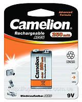 Аккумуляторная батарея Camelion 6F22/1BL 250mAh Ni-MH