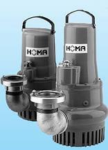Дренажні та каналізаційні насоси HOMA (св. прохід 1-35 мм)