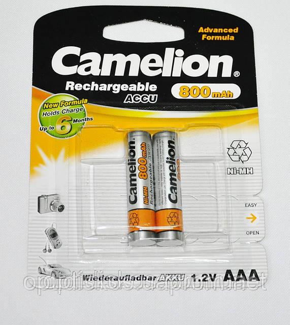 Аккумуляторная батарея CAMELION R 03/2bl 800 mAh Ni-MH