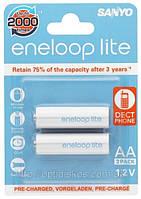 Аккумуляторная батарея SANYO Eneloop Lite R 6 (1000mAh) 1x2 шт.