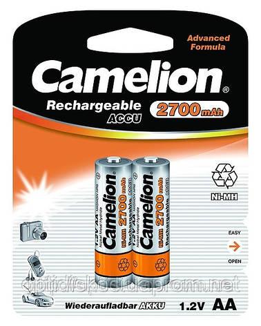 Аккумуляторная батарея CAMELION R 06/2bl 2700 mAh Ni-MH, фото 2