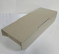 Коробка для макаронс, печенья, конфет 140х64х32 мм., бурая