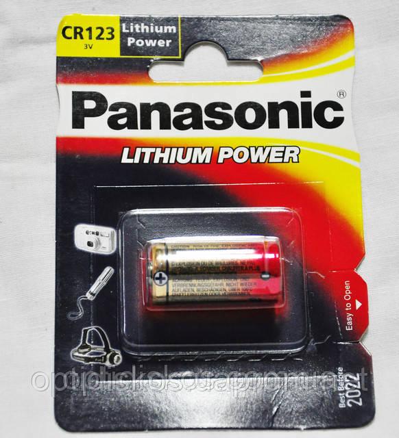 Батарейка Panasonic CR123A (3V)