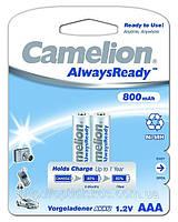 Аккумуляторная батарея CAMELION R 03/2bl 800 mAh Ni-MH (Always Ready)