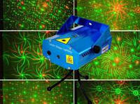 Мини лазер, заливка 6 фигур 06A