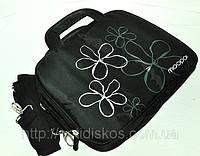 Сумка под ноутбук 10'-12' с цветочками