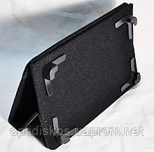 Универсальный чехол-книжка для планшетов 7'', piggy, черный