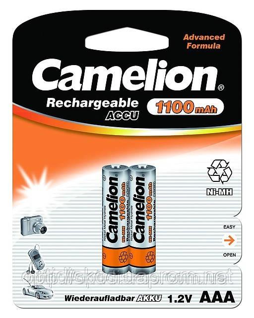Аккумуляторная батарея CAMELION R 03/2bl 1100 mAh Ni-MH