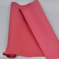 Бумага тишью в рулоне для упаковки, бордо