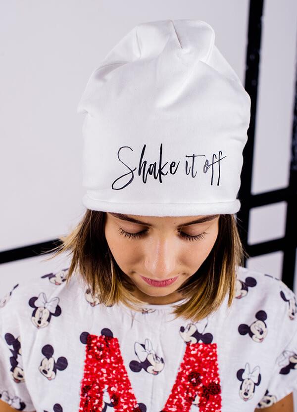 Детская шапка ВАЛОРИЯ для девочек оптом размер ХС-С-М