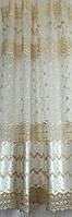 Гардинное полотно  органза  Перла №808258