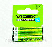 Батарейка VIDEX Excellent Alkaline LR03, AAA , уп.2шт