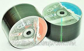 CD-R диски Videx X-Blue, bulk -50, фото 2