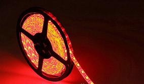 Светодиодная лента LED 3528 Red 60 12V без силикона