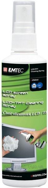 Спрей для TFT/LCD мониторов Emtec, 250mlНет в наличии