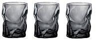 Набор стаканов Bormilio Rocco Sorgente Onice для напитков 3 шт. (300 мл)