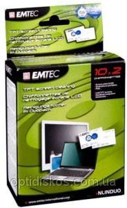 Чистящие салфетки EMTEC для TFT экранов (10сухих+10влажных)Нет в наличии