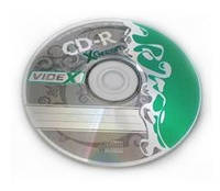 CD-R диски Videx X-Green , bulk -50